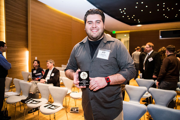Drake Evans receives Student Judges' Choice: Best Integrated Campaign.