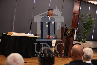 UNCP honors the memory of Allyson Burrill in a pre-Commencement ceremony on Saturday, December 7th, 2013. allyson_burrill_honor_0020.JPG