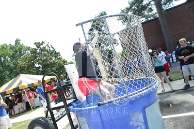 UNCP welcomes freshmen with a Block Party on Tuesday, August 13th, 2013. block_party_0019.JPG