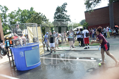 UNCP welcomes freshmen with a Block Party on Tuesday, August 13th, 2013. block_party_0008.JPG