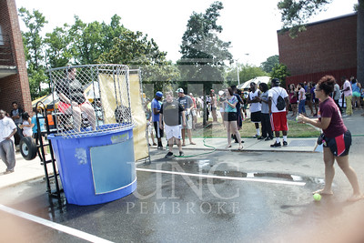 UNCP welcomes freshmen with a Block Party on Tuesday, August 13th, 2013. block_party_0010.JPG