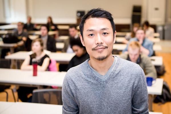 Alumnus Churu Yun of Frog Design Seattle.