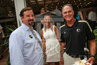 UNCP holds a Welcome Back Party at the Chancellor's Residence on Tuesday, August 13th, 2013. welcome_reception_0834.JPG