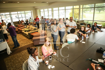 UNCP celebrates with an Ice Cream Social in Cypress Hall on Friday, August 16th 2013. ice_cream_Cypress_0004.JPG