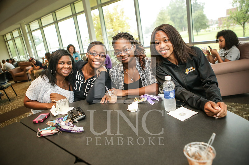 UNCP celebrates with an Ice Cream Social in Cypress Hall on Friday, August 16th 2013. ice_cream_Cypress_0009.JPG