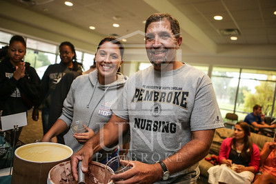 UNCP celebrates with an Ice Cream Social in Cypress Hall on Friday, August 16th 2013. ice_cream_Cypress_0010.JPG