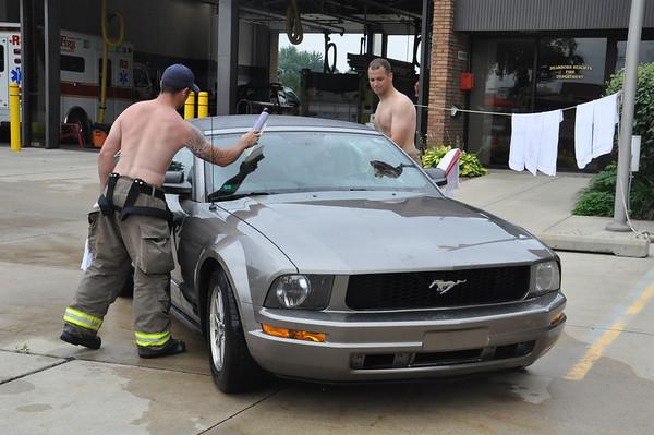 Dearborn Heights FD Car Wash 2013