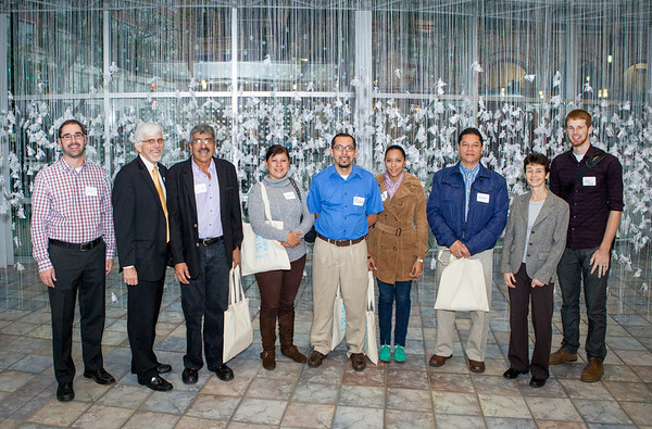 Delegation from the University of Nicaragua visited KCAD and GR.