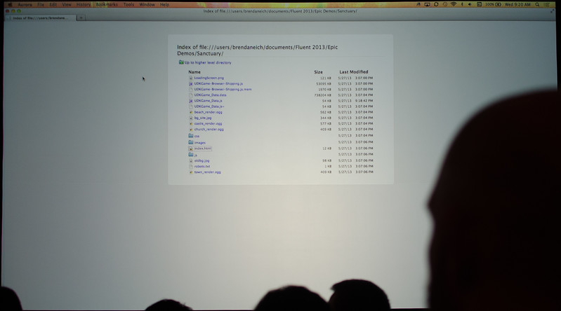 Brendan Eich's directory listing of the ASM.js powered 3D game demo.