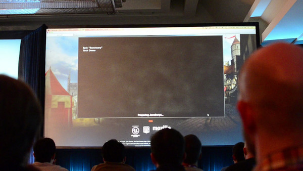 Brendan Eich (Mozilla) demos performance of ASM.js and AAA games runing almost full speed in browser.