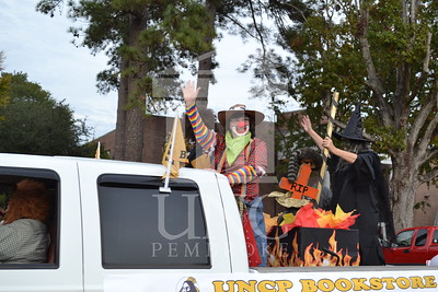 UNCP celebrates Homecoming with the Homecoming Parade on October, 31st 2013. Homecoming_parade_0019.JPG