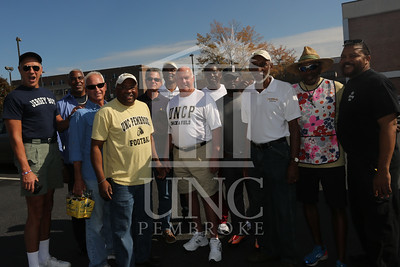 UNCP celebrates Homecoming at the Football game Vs. Tusculum on Saturday, November 2nd, 2013. homecoming_tailgating_0028.JPG