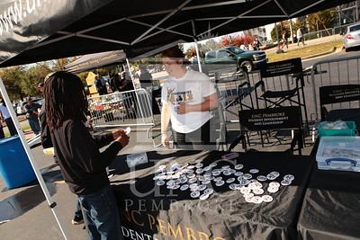 UNCP celebrates Homecoming at the Football game Vs. Tusculum on Saturday, November 2nd, 2013. homecoming_tailgating_0014.JPG