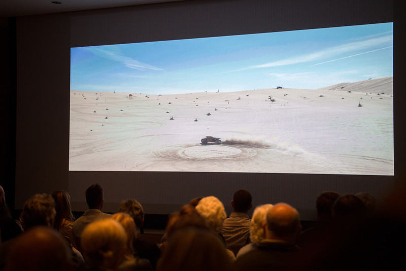 Reboot Buggy film showing.