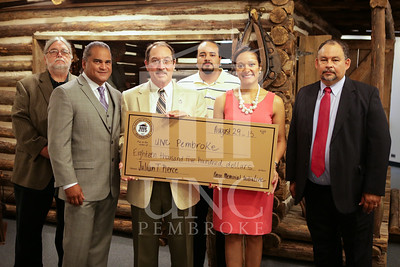 Julian Pierce Check Presentation