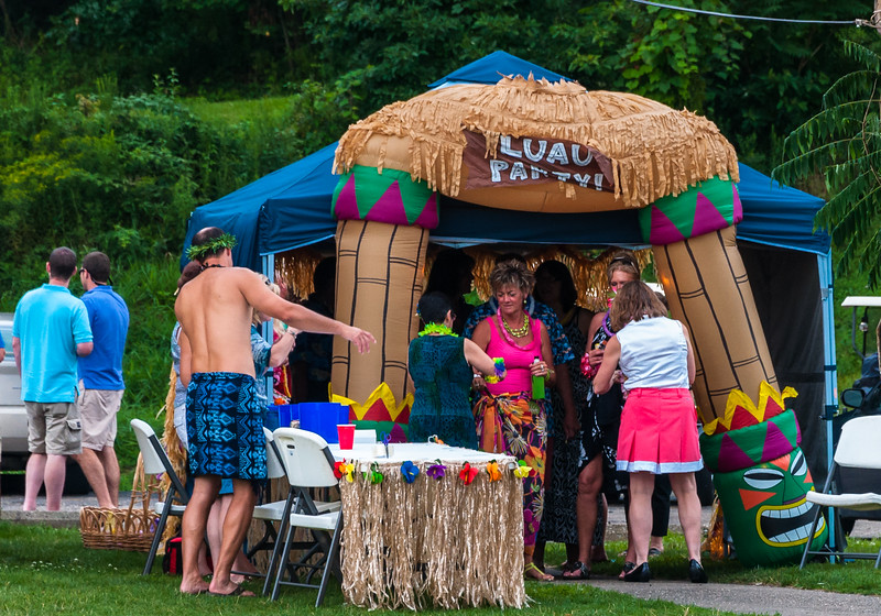 Lake Mohawk Luau