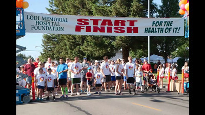 Lodi Memorial Hosp Foundation Walk-Run 2013
