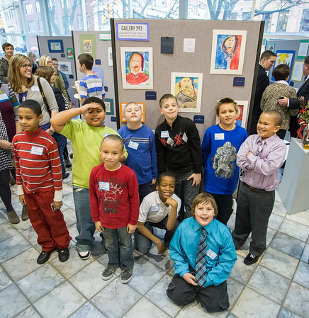 Students that KCAD student art educators taught.