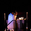 Adoration Taize on Thursday evening.  It just happen to coincide with the opening mass in Washington DC to open the March for Life pilgrimage.