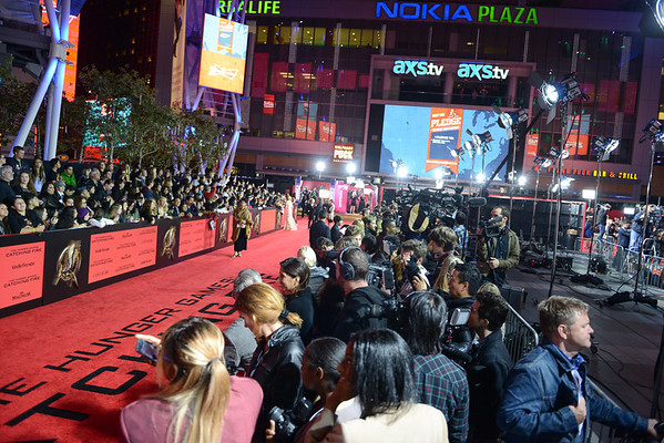The Hunger Games: Catching Fire Premiere