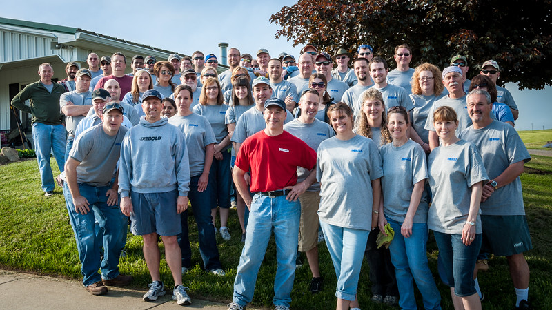 The 2013 Diebold Volunteers