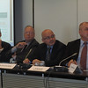 Mr Jean-Christophe Nothias, Ambassador Francois Nordmann, Dr Jovan Kurbalija, Amb. Petru Dumitriu