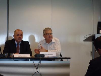 Amb. Petru Dumitriu, Dr Aldo Matteucci