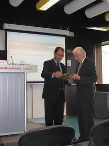 Prof. Stephen Calleya, Prof. Dietrich Kappeler