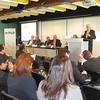 Mr Jean-Christophe Nothias, Ambassador Francois Nordmann, Dr Jovan Kurbalija, Amb. Petru Dumitriu, Dr Aldo Matteucci and Prof. Dietrich Kappeler
