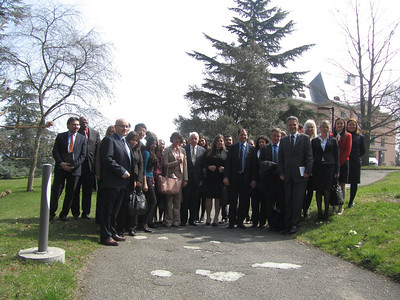 Family photo with Professor Dietrich Kappeler (April 2013)