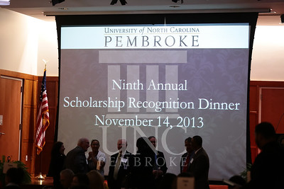 UNCP host the Scholarship Recognition Dinner on Thursday, November 4th, 2013. scholarship_recognition_0001.JPG