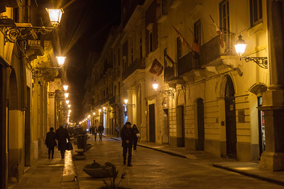 Evening visit to Trapani