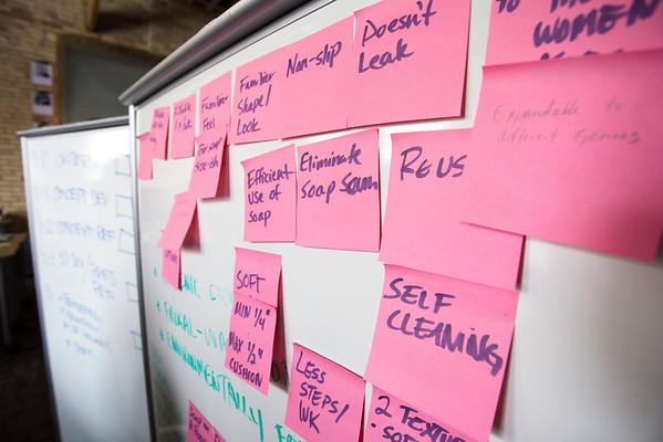 The Body Buffer KCAD team ideas at Startup Weekend GR.
