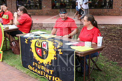 UNCP holds a student involvement fair on Wednesday, August 28th, 2013. student_involvement_fair_0019.JPG