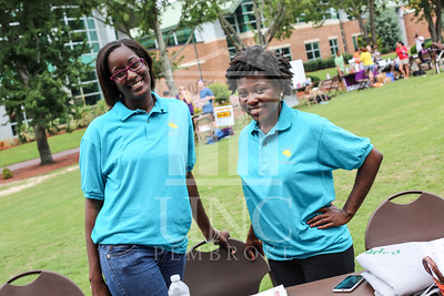 UNCP holds a student involvement fair on Wednesday, August 28th, 2013. student_involvement_fair_0020.JPG