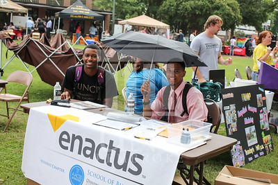 UNCP holds a student involvement fair on Wednesday, August 28th, 2013. student_involvement_fair_0006.JPG