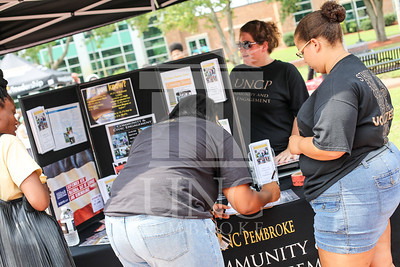 UNCP holds a student involvement fair on Wednesday, August 28th, 2013. student_involvement_fair_0024.JPG