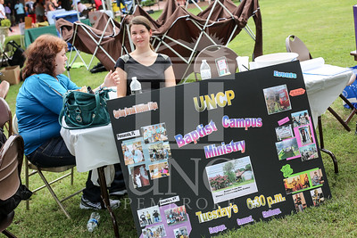 UNCP holds a student involvement fair on Wednesday, August 28th, 2013. student_involvement_fair_0007.JPG