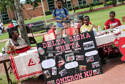 UNCP holds a student involvement fair on Wednesday, August 28th, 2013. student_involvement_fair_0025.JPG