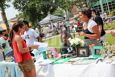UNCP holds a student involvement fair on Wednesday, August 28th, 2013. student_involvement_fair_0028.JPG