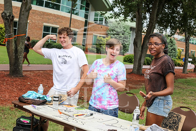 UNCP holds a student involvement fair on Wednesday, August 28th, 2013. student_involvement_fair_0005.JPG