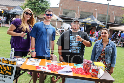 UNCP holds a student involvement fair on Wednesday, August 28th, 2013. student_involvement_fair_0015.JPG