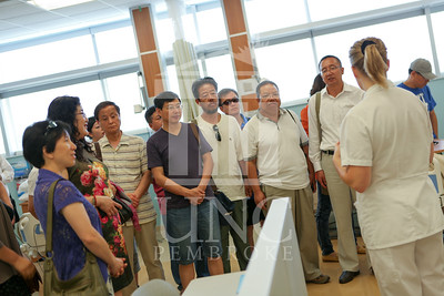 International Faculty visits UNCP and tours the new Allied Health Building. print_visiting_professors_0006.jpg