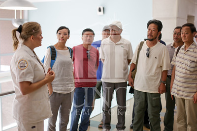 International Faculty visits UNCP and tours the new Allied Health Building. print_visiting_professors_0014.jpg