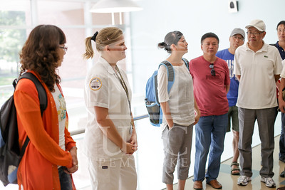 International Faculty visits UNCP and tours the new Allied Health Building. print_visiting_professors_0016.jpg