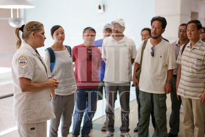 International Faculty visits UNCP and tours the new Allied Health Building. print_visiting_professors_0015.jpg