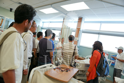 International Faculty visits UNCP and tours the new Allied Health Building. print_visiting_professors_0004.jpg