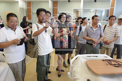 International Faculty visits UNCP and tours the new Allied Health Building. print_visiting_professors_0027.jpg
