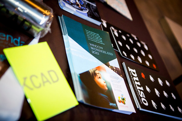 KCAD table at the event.