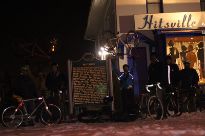 20130107 First Monday Ride of the Year Detroit